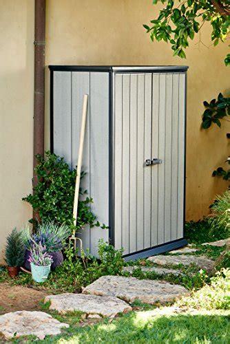 keter high store    vertical outdoor resin storage