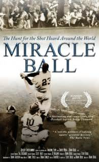 miracle hunt books story of bobby thomson home run comes to tv