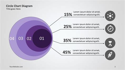 free circular layered diagram for powerpoint circle layered chart ppt diagram slide
