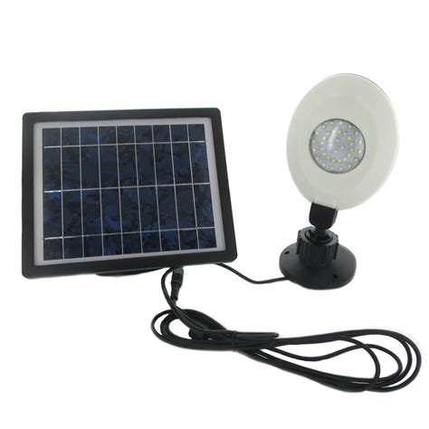 Outdoor Wall Mounted Solar Lights Solar 36 Led Rechargeable Wall Mounted Outdoor Entryway Garden Shed Flood Light Ebay