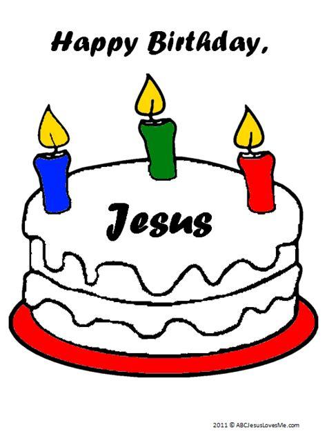 happy birthday baby jesus coloring page christmas abc jesus loves me
