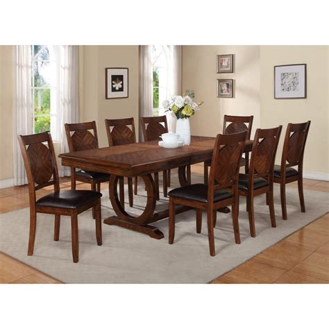 Furniture Rustic Wooden Dining Room Tables Rectangular Dining Room Tables Set