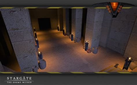 Pyramid Interiors by Wip Abydos Pyramid Interiors Image Stargate The Enemy