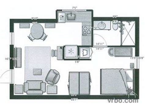 375 square feet waters house floor plan 375 sq ft maison pinterest