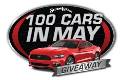 Station Casinos Car A Day Giveaway - 100 cars in may giveaway six things you need to know station casinos blog howldb