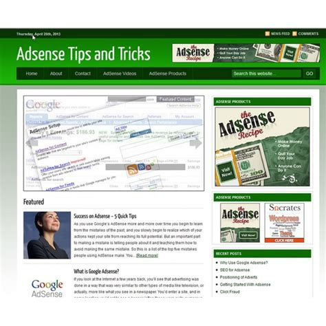 adsense tricks real them in free turnkey niche websites no catch free