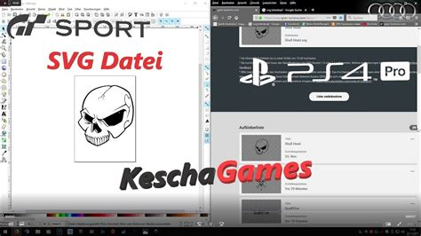 inkscape tutorial deutsch video gran turismo sport svg aufkleber tutorial mit inkscape ps4