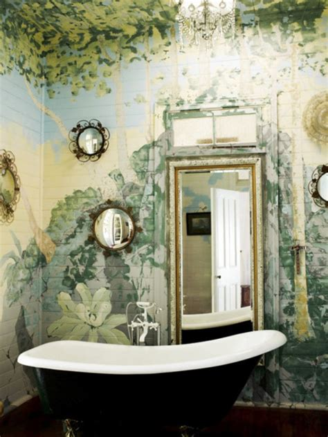 painted bathroom hand painted bathroom tile design ideas decozilla
