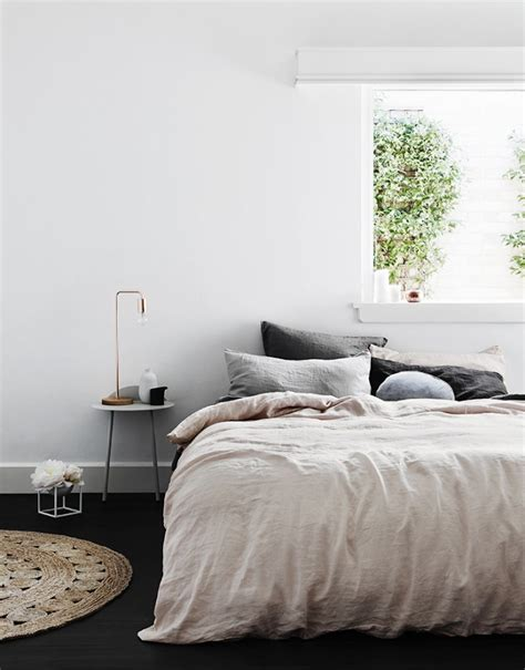 h and m bedding 5 favorites pale pink linen sheets roundup remodelista