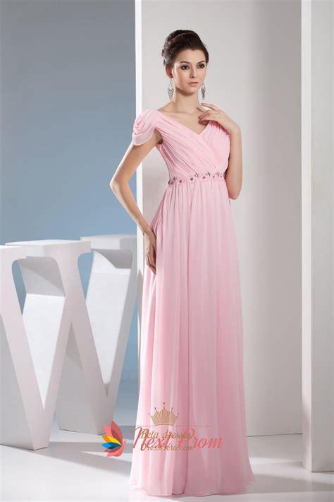light pink chiffon dress light pale pink off the shoulder long chiffon bridesmaid