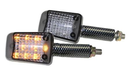 E Nummer Blinker Motorrad by Led Mini Blinker Set Steve Carbon Get 246 Nt E Nummer M8 F 252 R