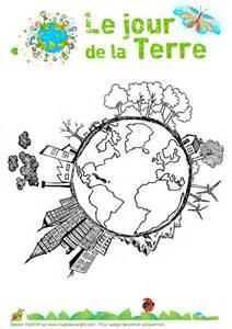 Des Coloriages Pour La Journ 233 E De La Terre Cabane 224 Id 233 Es