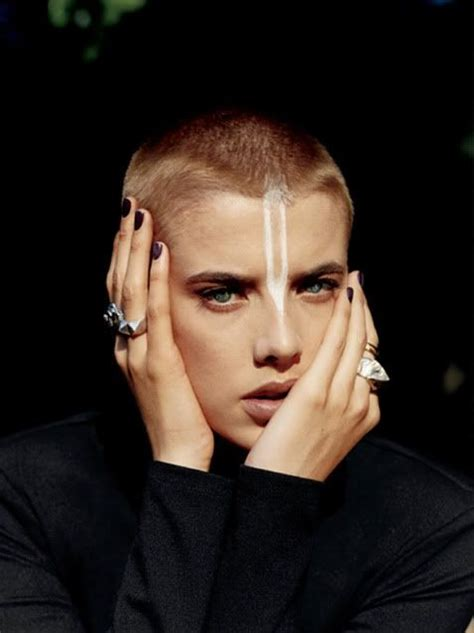 ai rocker with hair on his head 25 best ideas about buzz cut women on pinterest pixie