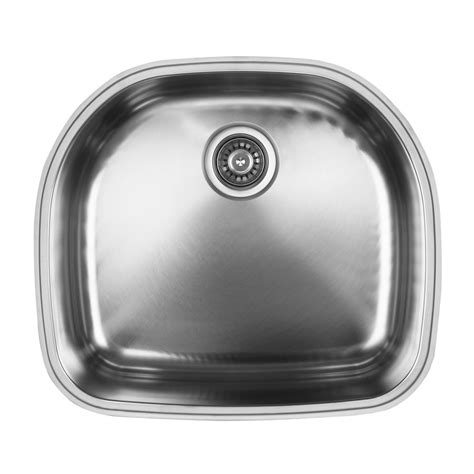 d shaped undermount stainless steel sink ukinox d537 8 single basin stainless steel undermount d