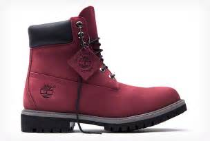 timberlands colors timberland burgundy 6 inch boot limited release