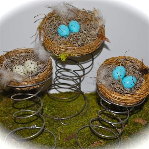 bird nest bed spring decorations birds nest and bed coils