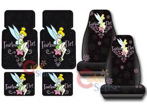 Tinkerbell Seat Covers Cars Walmart Car Accessories Tinkerbell Car Accessories