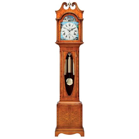 clock home decor yew scroll top grandfather clock grandfather clocks clocks home decor scullyandscully