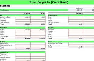 event budget spreadsheet template event budgeting excel template excel template event