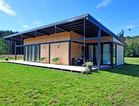 Plan Maison Plain Pied 50m2 Maison Ossature Bois Projet maison bois moderne plain pied images
