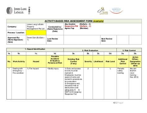 issue based risk assessment template risk assessment form sle ppyr us