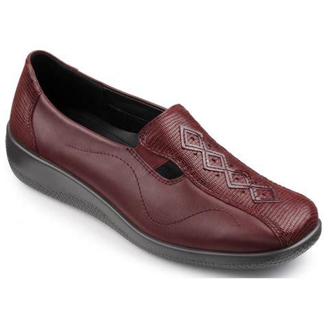 hotter womens calypso burgundy burgundy lizard leather