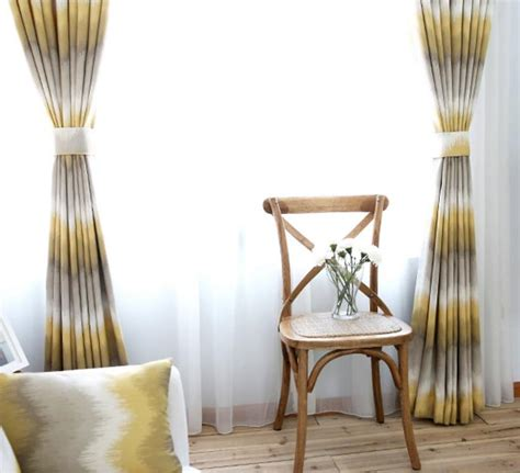 yellow striped jacquard poly cotton blend contemporary yellow and grey ombre chevron jacquard poly cotton blend