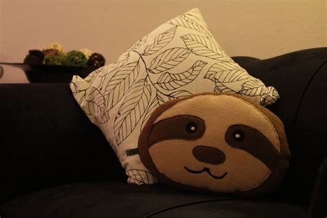 limited edition lovely sloth pillow happy sloth