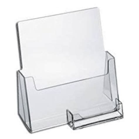 Brochure And Business Card Holder brochure business card holder