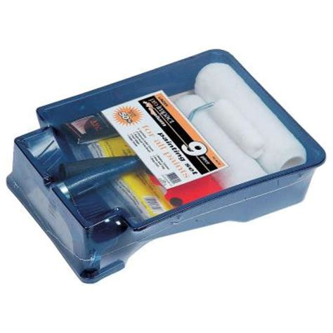 home depot paint tray linzer best professional paint tray set 9 rs 9039