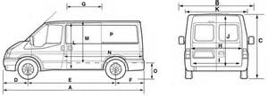 Ford Transit Height Ford Transit Wheelbase Dimensions