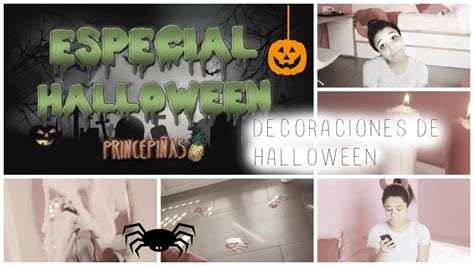 para decorar ideas para decorar tu cuarto en halloween youtube