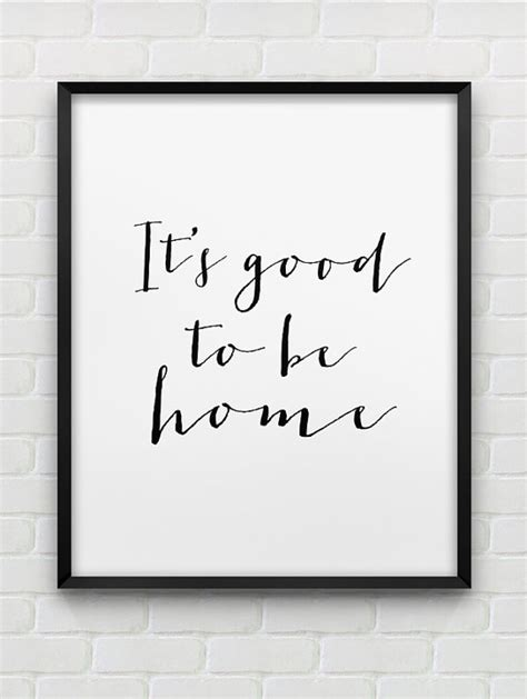 black and white photography wall art ideas siblings printable it s good to be home print instant download