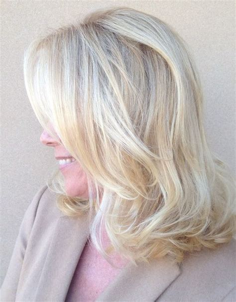 white frosting on medium blonde hair hairstyle ideas for mature women in 2018 2017 haircuts