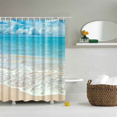 beach bathroom shower curtains best 25 beach shower curtains ideas on pinterest beachy