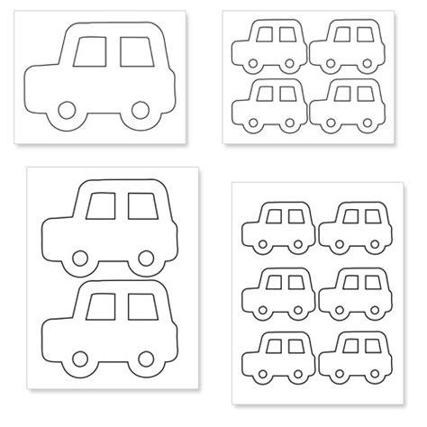printable car shapes printable car shapes printable treats com
