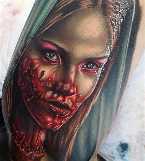 zombie girl tattoo 25 best ideas about tattoos on