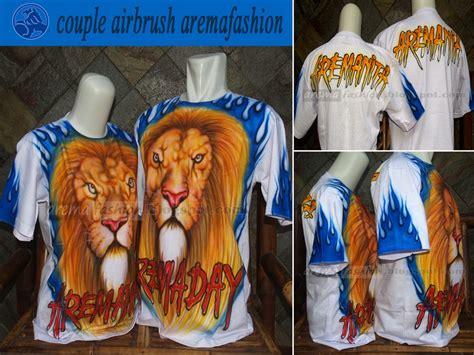 arema fashion kaos arema airbrush free desain bisa