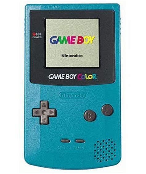 gameboy colors teal boy color system on sale