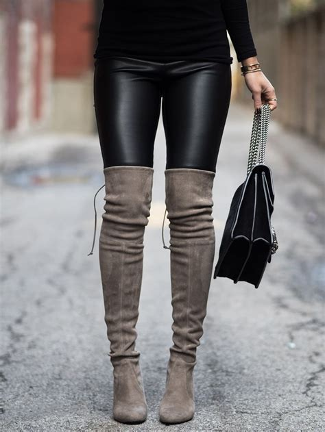 the knee suede boots glaminspire