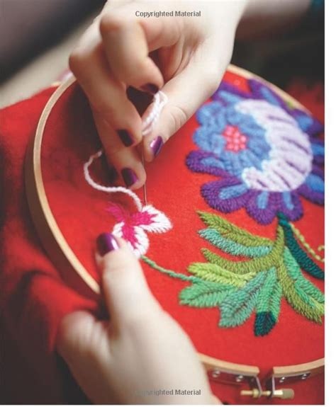 Diy Fashion Projects Embroidery Amp Needle Crafts Picmia