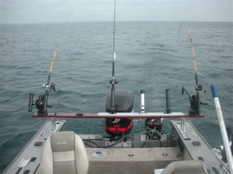 fishing boat setup ideas chicago fishing reports chicago fishing forums view