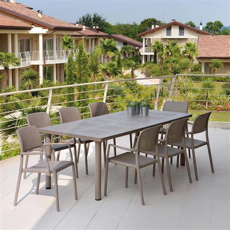 tavoli per giardino tavolo da giardino libeccio nardi
