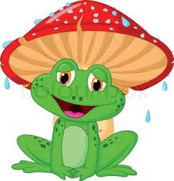 Popular House Plans cartoon mushroom with a toad stock vector colourbox