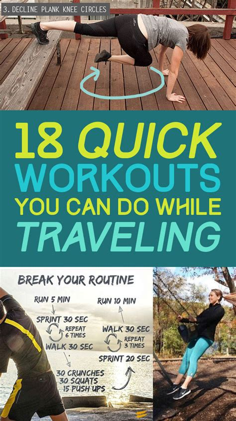 7 Exercises You Can Do While Waiting In Line by 18 Creative Workouts You Can Do While Traveling