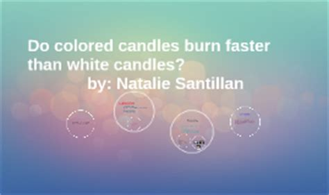 copy of do colored candles burn faster than white candles