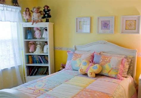 Yellow Bedroom Chair Design Ideas Yellow Bedroom Wall Painting Looks Bright When Combine White Furniture And Colorful Linen