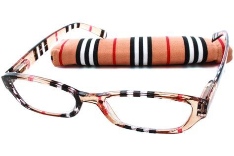 peepers chesterfield stripe designer reading glasses