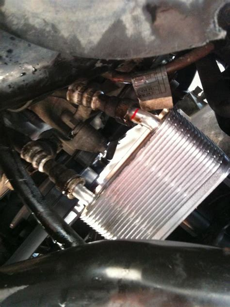 range rover gearbox change 2002 2005 zf5p24 gearbox fluid cooler and components
