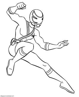 power rangers para colorear e imprimir colorear dibujos de personajes de power rangers samurai